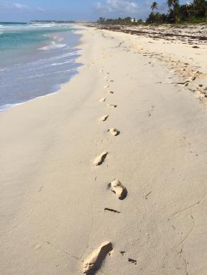 beach-footprints-sand-ocean-caribbean-dominican-republic-ocean1